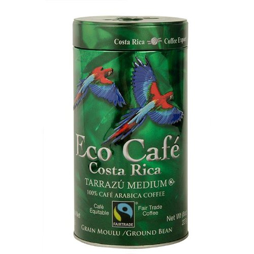 Eco Cafe Tarrazu, 8 Ounce (Fair Trade Coffee Gift compare prices)