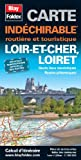 echange, troc Blay-Foldex - Loir-et-Cher (41), Loiret (45) - Carte départementale routière et touristique (échelle : 1/180 000)