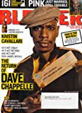 Blender Magazine Dave Chappelle April 2006 (Pink, Kristin Cavallari, The Strokes)