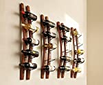 Napa Style Handcrafted Double Stave Wine Rack
