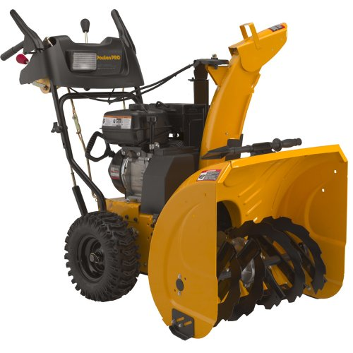 Gas Powered Snow Blowers : Poulan pro two stage quot snow thrower model  ebay