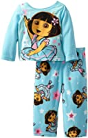 Nickelodeon Girls' Dora the Explorer Baby Fleece Pajama Set