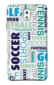 DailyObjects Sports Case For Samsung Galaxy Note 3 N9000 (Back Cover)
