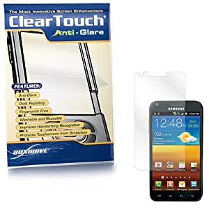 BoxWave Samsung Galaxy S2, Epic 4G Touch ClearTouch Anti-Glare Screen Protector - Premium Quality Anti-Glare, Anti-Fingerprint Matte Film Skin to Shield Against Scratches (Includes Lint Free Cleaning Cloth and Applicator Card) - Samsung Galaxy S2, Epic 4G Touch Screen Guards