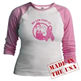 Rosie We Can Fight It Jr. raglan Jr. Raglan by CafePress