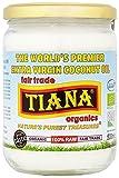 Tiana Fairtrade Organic Raw Extra Virgin Coconut Oil 500 ml