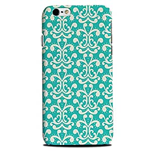 Aaranis designed Iphone 6, 6S Mobile Backcover with perfect Matte Finishing printed design Patterns & Ethnic(blue)