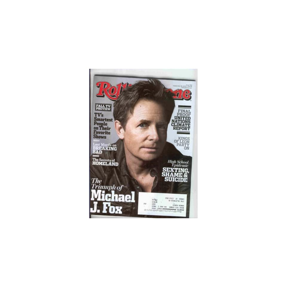 Rolling Stone 2013 September 26 (On the cover Michael J.Fox)