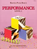 WP211 - Bastien Piano Basics Performance Level 1