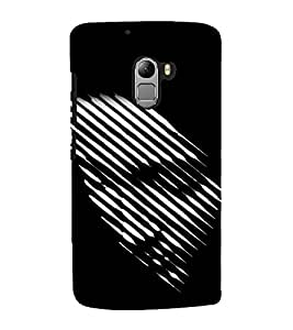printtech 3D Abstract Person Back Case Cover for  Lenovo K4 Note A7010a48, A7010