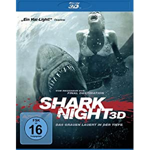 Shark Night 3D [3D Blu-ray]