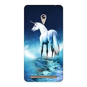 Cute Unicorn Horse Print Back Case Cover for Zenfone 6