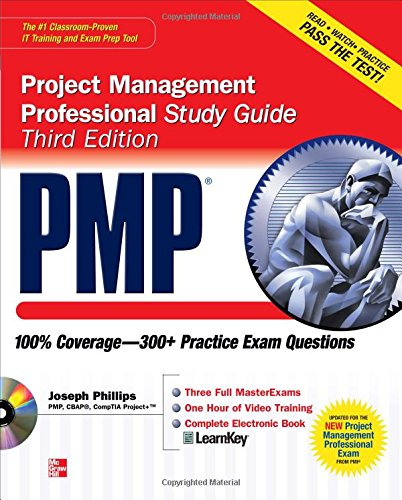 PMP Project Management Professional Study Guide (Certification Press)