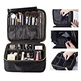 ROWNYEON Mini Makeup Train Case with Portable EVA and freely combined