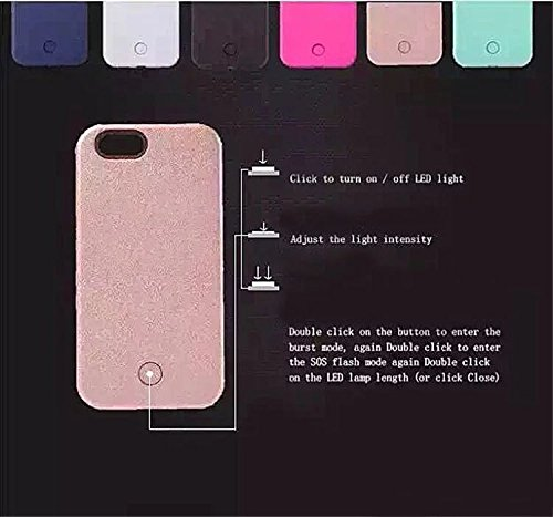 iphone-5-5s-CaseVandot-Premium-LED-Light-Up-Luminous-Selfie-Cell-Phone-Case-Illuminated-Dimmable-Bright-Bumper-Case-Anti-scratch-Perfect-Fit-PC-Hard-Back-Cover-Skin-For-Apple-iphone-5-5s-SE-White
