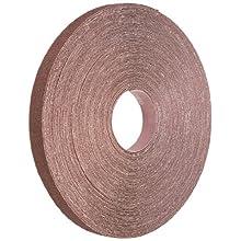"Norton K225 Metalite Abrasive Roll, Cloth Backing, Aluminum Oxide, 1"" Width x 50 yds Length, Grit P40 (Pack of 1)"