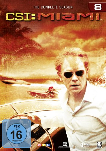CSI: Miami - Season 8 [6 DVDs]