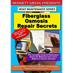 Fiberglass Osmosis Repair Secrets