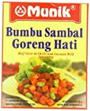 Munik Sambal Goreng Hati Beef Liver in Chili and Coconut Seasoning, 140-Gram