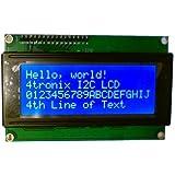 RioRand™ LCD Module for Arduino 20 x 4, White on Blue