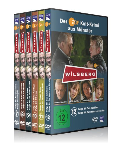 Wilsberg Krimi-Package 7-12 [6 DVDs]