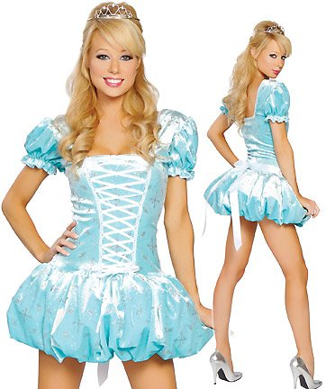 Roma Costume Women's Midnight Cindy Fairy Tale Costumes For Women Blue