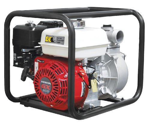 "B E Pressure Wp-3065Hl Water Transfer Pump, 3"", Gx200, 264 Gpm, 6.5 Hp front-506080"