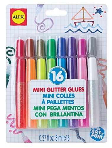 ALEX Toys Artist Studio Mini Glitter Glues
