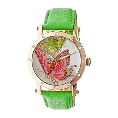bertha-bthbr4305-reloj-para-mujeres-correa-de-acero-inoxidable-color-verde