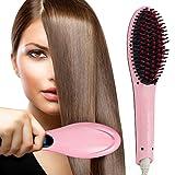 Hair Straightener, Oak Leaf Pro Detangling Hair Brush Electric Comb Hair Straightening Irons
