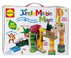 ALEX® Toys - Early Learning Jungle Marble Maze -Little Hands 17N