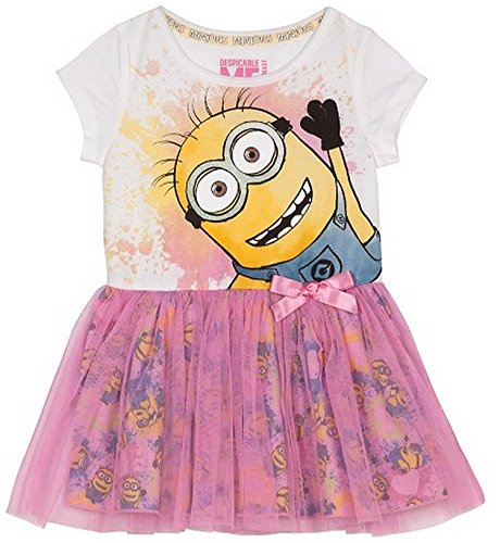 Despicable Me Minions Little Girls Toddler Mesh Skirt Dress