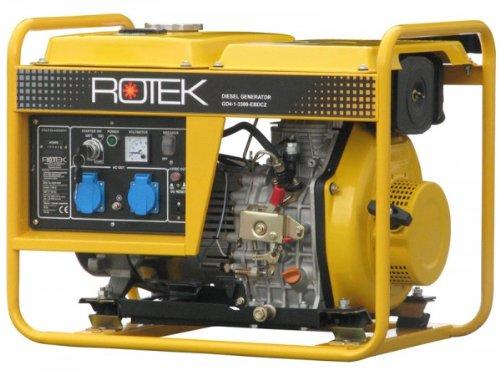 Generator GD4-1A-3300-EBZ-U 3,6kVa, 230V Rotek