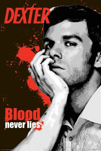 TV Blood Never Lies Dexter Poster