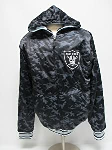Oakland Raiders Black Ops Reversible Jacket by MTC Marketing, Inc