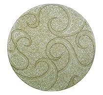 Big Sale Padma's Plantation OL-WAVTOP-60 Outdoor Waves Round Mosaic Top, 60-Inch