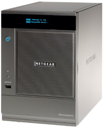 Netgear ReadyNAS Ultra 6-Bay 6TB Multimedia Desktop Storage System with iSCSI