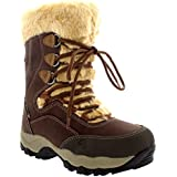 Womens Hi-Tec St. Anton 200 Waterproof Winter Snow Hiking Lace Up Boots