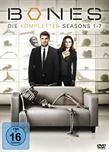 Bones Season 1-7 Komplettbox (exklusiv bei Amazon.de) [39 DVDs]