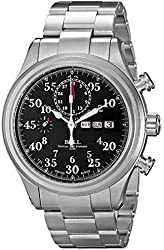Ball Men's CM1030D-S1J-BK Trainmaster Analog Display Swiss Automatic Silver Watch