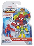 Playskool Marvel Super Heroes Figure Spider-Man and Doc Ock (Pack of 2)