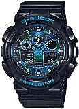 Amazon.co.jpカシオ Gショック G-SHOCK クオーツ メンズ 腕時計 GA-100CB-1A ブルーカモフラ [並行輸入品]