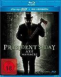 President's Day – Axe Massacre  (+ 2D-Version) [3D Blu-ray]
