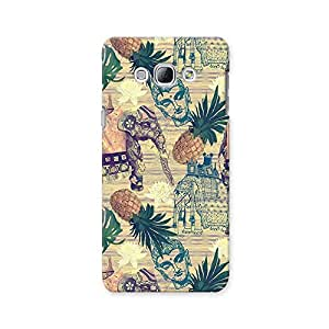 ArtzFolio Indian Elephants : Samsung Galaxy A8 Matte Polycarbonate ORIGINAL BRANDED Mobile Cell Phone Protective BACK CASE COVER Protector : BEST DESIGNER Hard Shockproof Scratch-Proof Accessories