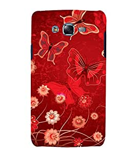 printtech Butterfly Flowers Back Case Cover for Samsung Galaxy J1 (2016) / Versions: J120F (Global); Galaxy Express 3 J120A (AT&T); J120H, J120M, J120M, J120T Also known as Samsung Galaxy J1 (2016) Duos with dual-SIM card slots