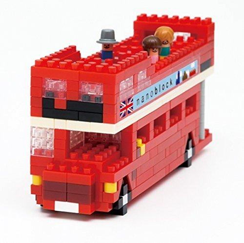 Nanoblock London Tour Bus Building Blocks