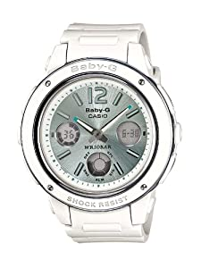 Casio Damen-Armbanduhr XL Baby-G Analog - Digital Resin BGA-150-7B2ER