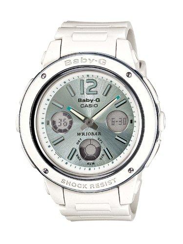 Casio Women's Quartz Watch Baby-G BGA-150-7B2ER with Rubber Strap