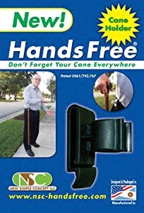 Hands Free Cane Holder from New simple concept LLC