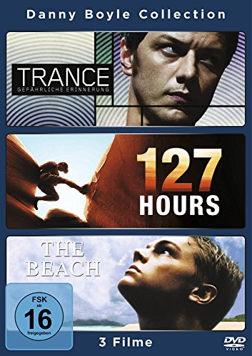 Danny Boyle Collection (Trance - Gefährliche Erinnerung / 127 Hours / The Beach ) [3 DVDs]